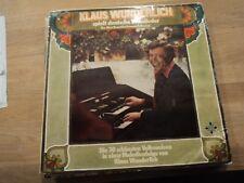 KLAUS WUNDERLICH Spielt Deutsche Volkslieder vinyl LP - VG / G