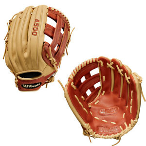 "Wilson A500 12"" Youth Baseball Glove WBW10015512"