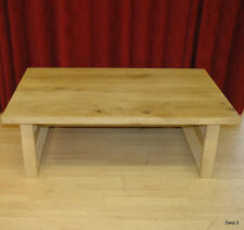 Unbranded Oak Rectangle Country Coffee Tables