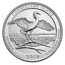 2018-D CUMBERLAND ISLAND SEASHORE (GEORGIA) QUARTER UNCIRCULATED