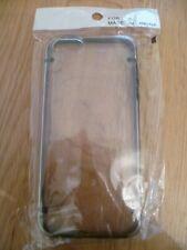 BNIP IPhone 5 💜 Hard Back Clear Transparent Phone Cover Case Black Edge