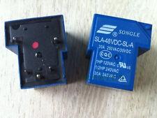10pcs 5pins 48V SLA-48VDC-SL-A T90 30A 250VAC 30VDC SONGLE Relay