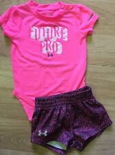 Under Armour Outfit Baby Toddler Size 3-6 Months Pink
