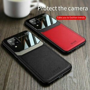 For Samsung Galaxy A42 5G Shockproof PU Leather Hybrid Slim Phone Case Cover
