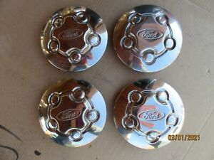 1998-2011 FORD CROWN VICTORIA P71 CENTER HUB CAP WHEEL.  SET OF 4!!!
