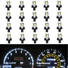 20x White T10 PC194 168 W5W Instrument Cluster Panel LED Light Bulb+Sockets