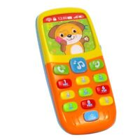Early Education Baby Toy Tiny Touch Phone Musical Sound Telephone For Boys Girls