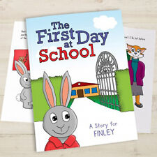 Personalised First Day At School Book New School Book Kids Starting School Gift