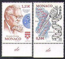 Monaco 2003 Fleming/Penicillin/DNA/Helix/Medical/Health/Medicine 2v set (n38375)
