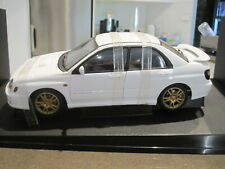 1:18 AUTOART 78643 NEW AGE SUBARU IMPREZA WRX STI WHITE *NEW* LAST ONE!!