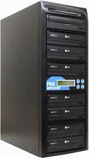Produplicator 1 to 7 24X Burner M-Disc Support CD DVD Duplicator Brand New