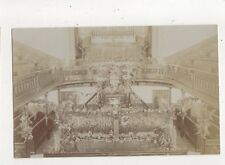 Decorated Interior Edwardian Chapel Vintage RP Postcard 645a