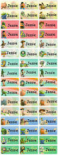 Personalized Waterproof Name labels stickers, 36 toy story , day care, school,