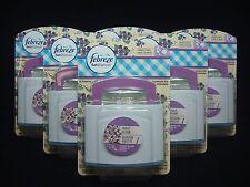 6 Febreze Set & Refresh Air Freshener Violet Bloom Scent 0.18 fl oz each