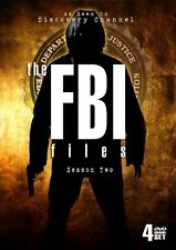 FBI FILES SEASON 2 New Sealed 4 DVD Discovery Channel