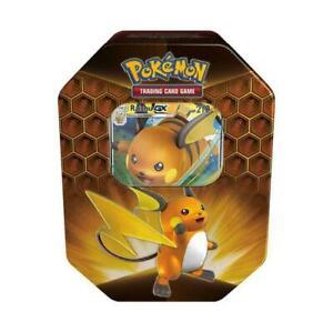 Pokemon TCG - Hidden Fates Tin Raichu  - Brand New & Sealed