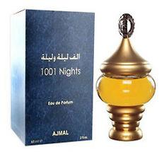 1001 Nights 3ml Perfume Roll On Exotic Arabian Attar Spicy Woody Floral Musk