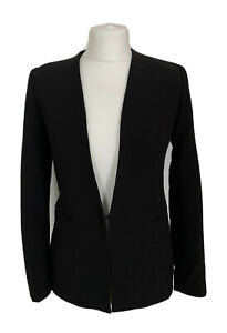 Womens Zara Basic Collection Black Fitted Formal Smart Jacket Size Eur S /USA S
