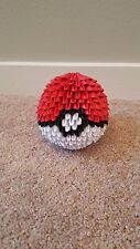 3D Origami Paper Awesome Pokeball!