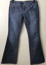 Frankie B. Jeans Women's Size 8 Dark Wash Flare Leg Style # 241D20547
