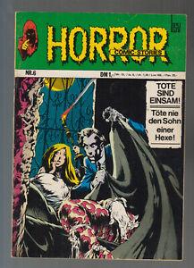 Horror BSV Nr. 6  (1- ) sehr guter Zustand 1972