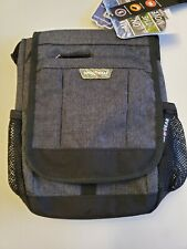 Swiss Gear Vertical Travel Bag with Adjustable Strap - Heather Gray - NWT