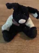 Boyd's Bears Stuffed Black And White Pig
