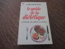 marabout le guide de la dietetique - DR EMILE-GASTON PEETERS