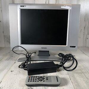 "15"" Magnavox 1080i/720p 4:3 Square LCD HD TV w/ REMOTE (Working 100%) 15MF605T"