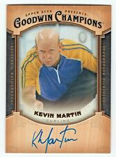 2014 Goodwin Champions Autograph Kevin Martin Canada Curling Olympic Champ HOF