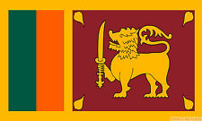 SRI LANKA FLAG 3X2 feet 90cm x 60cm FLAGS SRI LANKAN