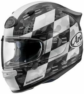 Arai Helmet ASTRO-GX QUANTIC Snell Casque casco Full Face MATTE CHECKER WHITE