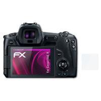 atFoliX Verre film protecteur pour Canon EOS R 9H Hybride-Verre