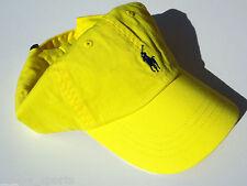 NEW! Lemon Crush/Blue Polo Adult Unisex Golf Ralph Lauren Classic Sport Cap
