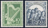 BERLIN 1950, MiNr. 72-73, tadellos postfrisch, gepr. Schlegel, Mi. 140,-