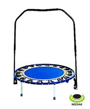 Needak Rebounder - Folding, Soft-bounce, Blue + Stabilizing Bar - NEEDAK STORE