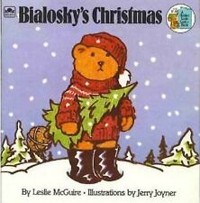 Bialosky's Christmas by Leslie McGuire / Jerry Joyner (1984) Golden Look - Look