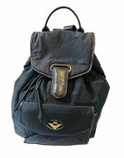 BOTTEGA VENETA black nylon backpack