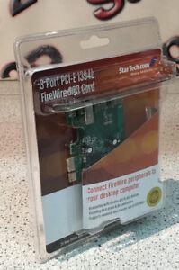 StarTech 3-Port PCI-E 1394b FireWire -800 Card