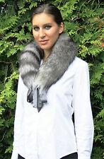 Echtpelz Kragen Fuchs Schal Krawatte Pelz Pelzkragen Fuchskragen NEU fox collar