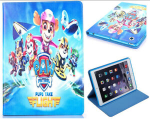 For iPad Pro 9.7 / iPad 9.7 / iPad Air 1-2 Paw Patrol  Anime Stand Case Cover