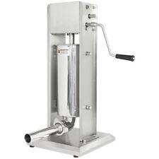 Remplissage Poussoir Appareil Machine à Saucisses Viande Acier Inoxydable 5L