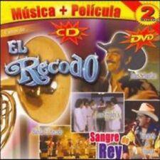 Banda El Recodo Exitos De: Sangre Del Rey CD+DVD New