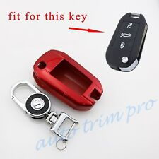 Fit For Peugeot 301 308 508 2008 3008 Accessory Key Holder Case Bag Ring Cover