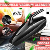 5000Pa USB Cordless Handheld Portable Interior Home Car Silent Vacuum