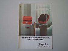 advertising Pubblicità 1974 TERRAILLON