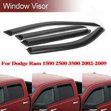 Window Visor Rain Guard For 02-09 Dodge Ram 1500 2500 3500 Weather Shield EJ