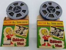 2 X WALTON HOME MOVIES STANDARD 8mm FILM ; CIRCUS TIME