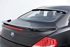BMW 6 SERIES E63 BOOT SPOILER