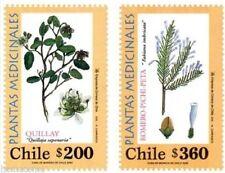 Chile 2000 #1994-95 Plantas Medicinales MNH